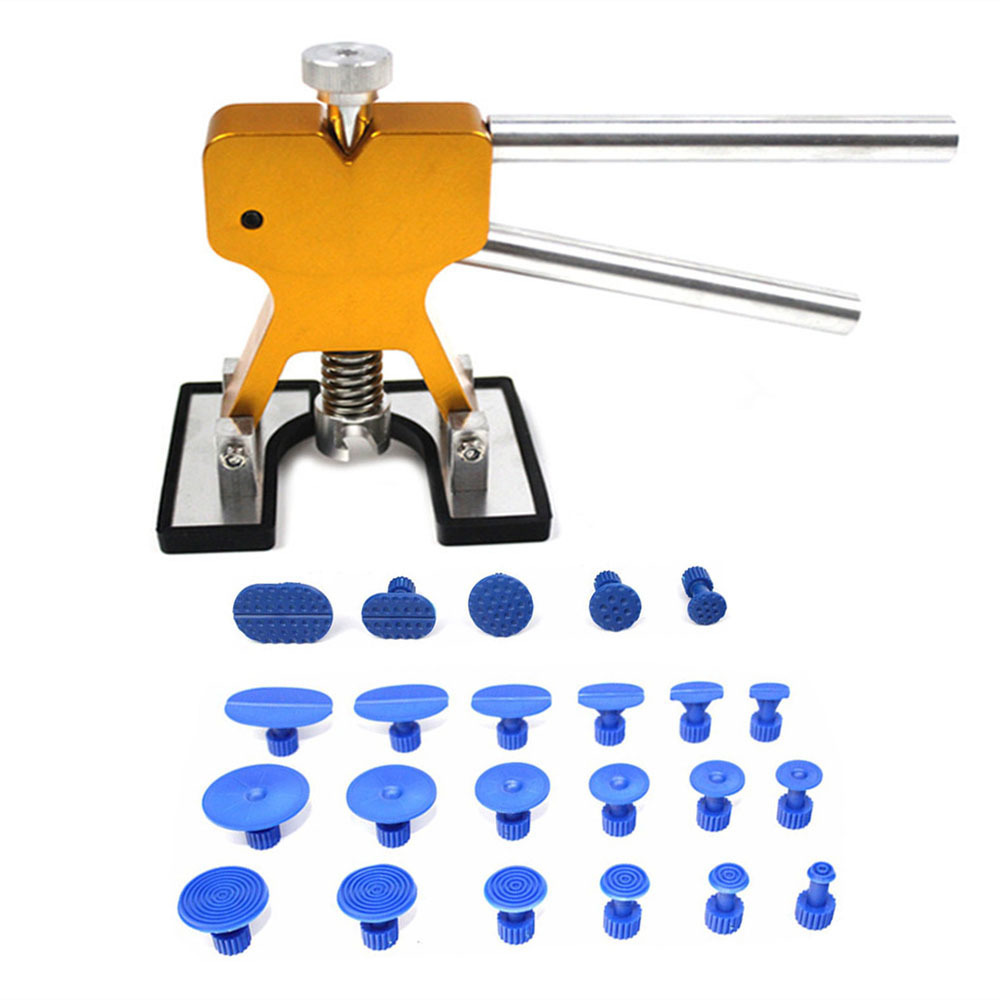 PDR Tools Dent Puller Kit Car Paintless Dent Repair Tools Auto Repair Tool Set Glue Tabs Sucker Suction Cup Hand Tools 24pcs/Set dent puller kit pdr tools paintless dent repair removal tool car straightening instruments hand tool set ferramentas suction cup