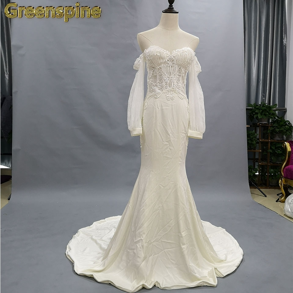 Wedding Dresses 2018 Couture Ball Gowns Elegant Royal: Greenspine Wedding Dress 2018 High Quality Elegant