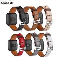 Leder band Für Fitbit Versa/versa 2/versa lite strap Versa correa Ersatz Armband gürtel smartwatch Uhr zubehör