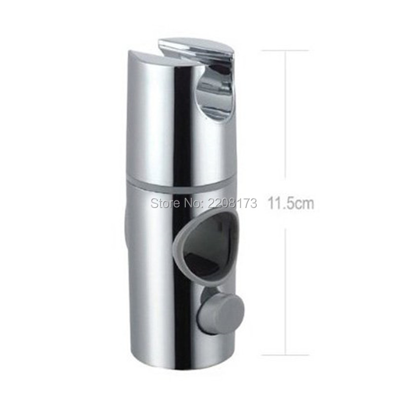 Universal Shower Head Tap Holder Arm Stand Adjustable 25mm Rail Bracket for Bathroom Use Accessories Chrome/Brushed Nickel