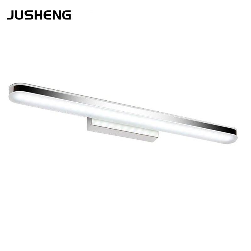 ФОТО Modern LED Bathroom Wall Lighting 8W Indoor LED Washroom Wall Lights 40CM Long led Acrylic Lamps Free Shipping 110-240v