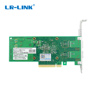 Image 3 - LR LINK 1002PF 2SFP+ 10Gb fiber optic ethernet network adapter PCI Express network card lan card Nic Domestic Chip