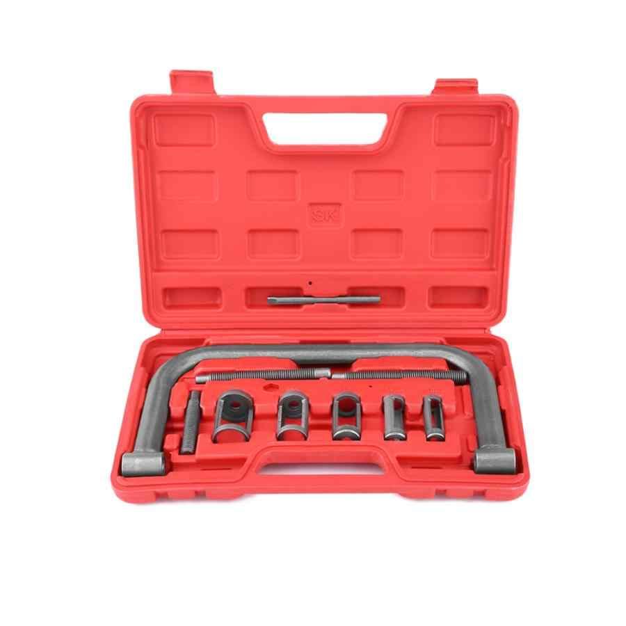 10Pcs Valve Spring Compressor Kit Removal Installer Tool For Car Van Motorcycle Engines