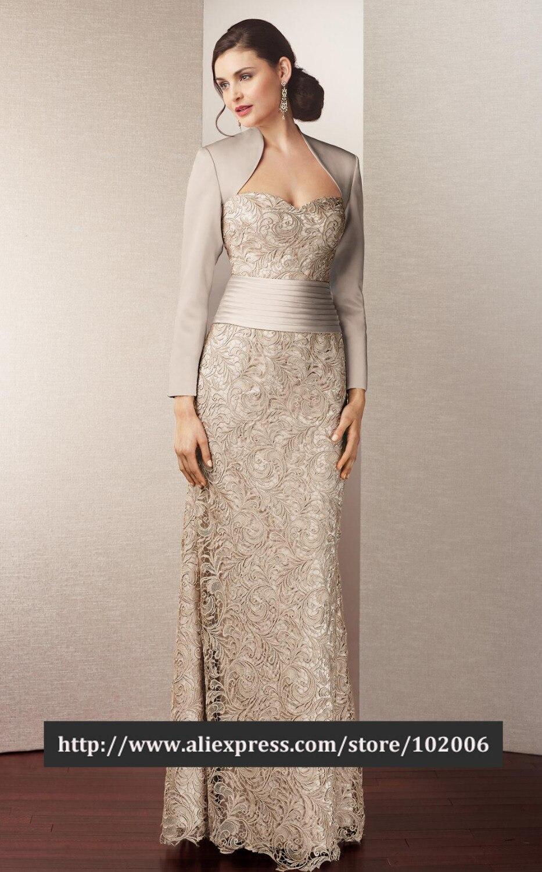 Aliexpress.com : Buy Elegant Floor Length Bolero Mother of the ...