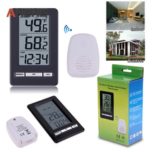 On sale Digital LCD Thermometer Remote Wireless Electronic Temperature Meter Weather Station Indoor Outdoor Tester