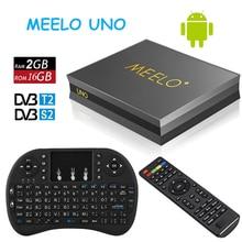 Prevalent Meelo uno 2G/16G Android 5.1.1 TV Box DVB-T2+DVB-S2 Amlogic S905 Quad Core 1080p 4K kodi DVB