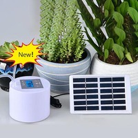 Solar DIY Drip Device Seepage lazy Plant Intelligent Timing Pouring Flower Artifact Automatic Watering System Adjustable Dripper
