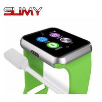 Slimy DM09 Bluetooth Smart Watch Wristwatch HD Screen Support SIM Card Wearable Devices Smartwatch For Apple