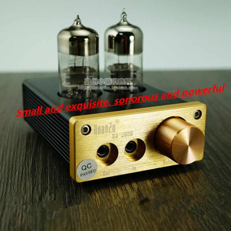 Xz-U808 Sốt Ống Chân Không Hifi Brainphone Headphone Bộ Khuếch Đại Xách Tay