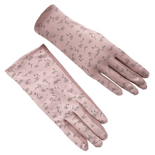 Gloves Spring And Autumn Ladies Thin Section Summer Sunscreen Driving Anti-Skid Touch Screen All Refers To Breathable UV TBFS04 цена 2017