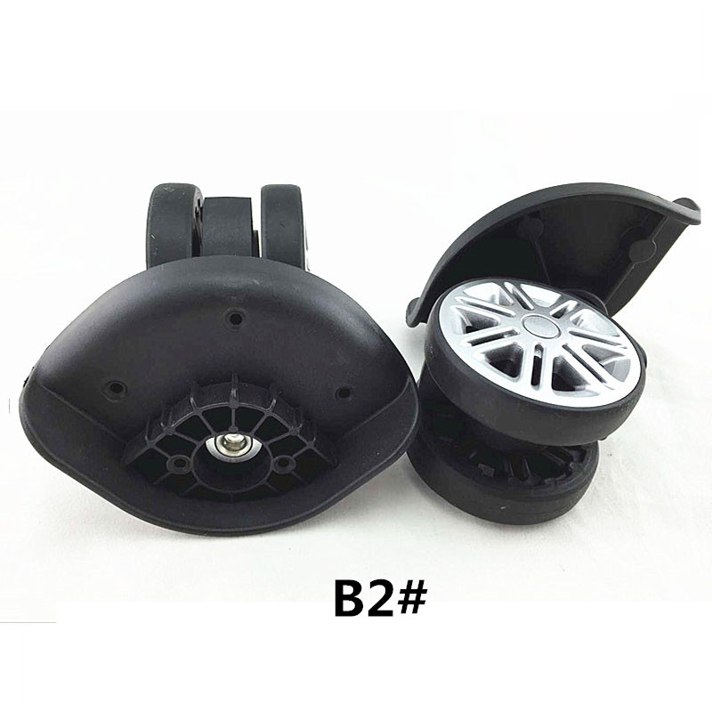 Replacement Luggage Wheels,Suitcase Repair Parts Spinner Wheels Swivel Casters Accessories,wheels for suitcases B2# new luggage replacement wheels suitcase repair replacement parts 360 spinner upright mute high quality wheels for suitcases 2pcs