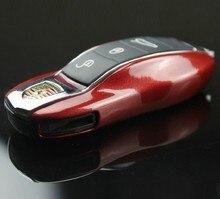 Бесплатная Доставка Дистанционный Ключ Замена Крышки Случая, пригодный для Porsche Cayenne Cayman boxster Panamera Macan 911 997 918