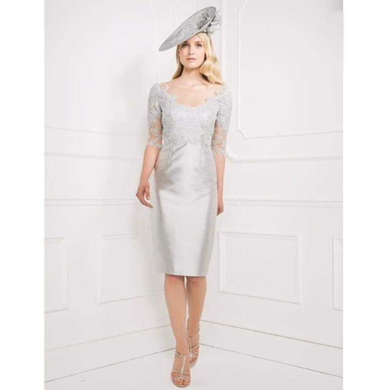 2015-Decent-Sheer-Neck-Silver-Mother-of-the-Bride-Dresses-with-Jacket-Lace-Applique-Dress-for (1)