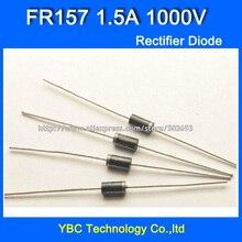 500 шт./лот FR157 1.5A/1000 V Быстрый восстановительный выпрямляющий диод