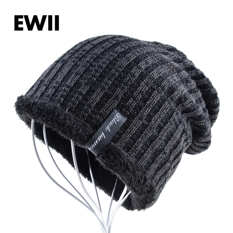 2017 Winter knitted cap men beas