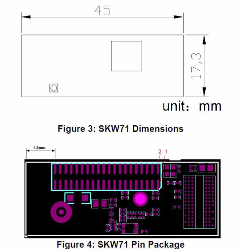 SKW71 pin