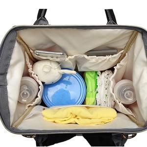 Image 4 - Saco de fraldas mochila viagem leopardo men múmia cuidados com o bebê saco de carrinho grande capacidade à prova dwaterproof água saco do bebê negócios para a mãe