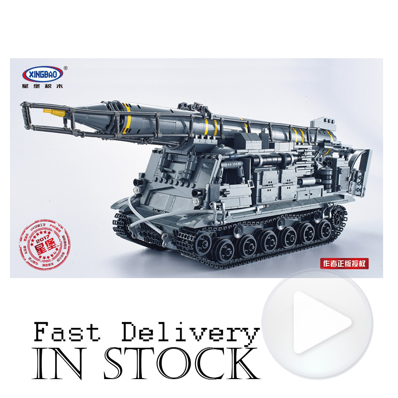 XingBao 06005 8U218 TEL 8K11 Military SWAT Army Building Blocks Bricks Toys Enlighten For Boys oyuncak Compatible with legoINGly 8 in 1 military ship building blocks toys for boys