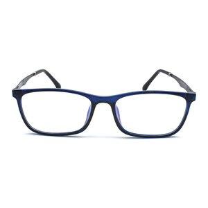 Image 2 - TR 90 プラスチック眼鏡フレーム男性ファッション光学近視処方クリアコンピュータ眼鏡フレーム X2005 フレーム眼鏡
