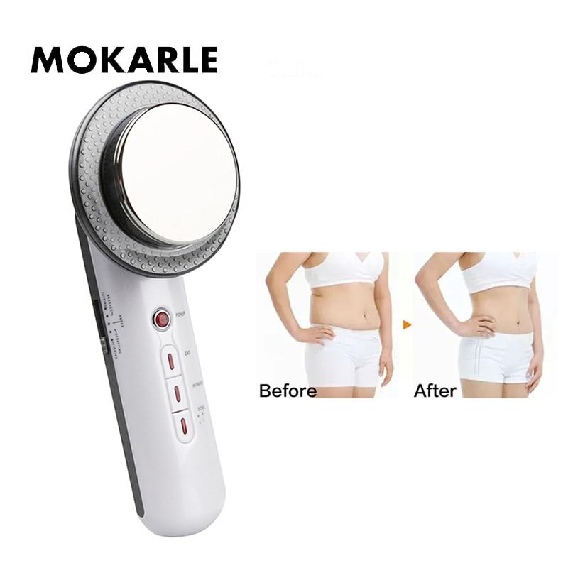 Ultradźwiękowy ciała masażer EMS elektryczny masażer wibracyjny dla maszyna wyszczuplająca do ciała anty cellulit, że zaostrzenie skóry miostymulator