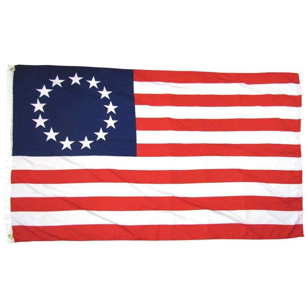 1 PC 米国旗国旗庭の装飾 13 星アメリカ星条旗米国 3 × 5 足フラグ feest Vlag Drapeaux BB4