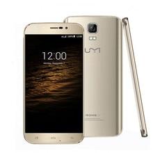 Original Umi Roma X MTK6580 Teléfono Móvil 1280*720 HD Android 5.1 1.3 GHz Quad Core 1 GB + 8 GB Dual SIM 2500 mAh Smartphone Envío nave