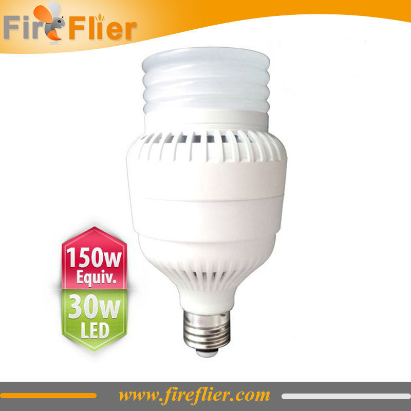 30W Led Bulbs for Fluorescent fixtures with high CRI and brightness 2pcs/lot DHL Free Shipping free shipping cri 90