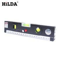 MX DEMEL 4 In 1 Blister Laser Levels Horizon Vertical Magnetic Measuring Tape Aligner Laser Marking