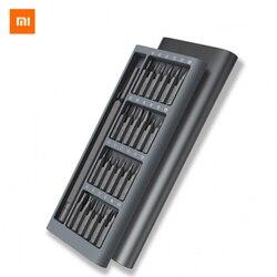 2017 Оригинальный xiaomi Mijia Wiha ежедневно Применение отвертка комплект 24 точность магнитные биты AL коробка отвертка xiaomi умный дом комплект