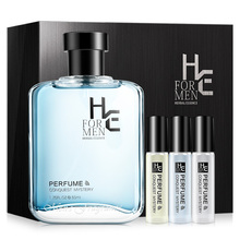 Hern H&E Mens Fragrance Lasting Light Natural Fresh Cologne Masculine Attracts The Opposite Sex Blue Wooden Scent