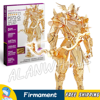 3D Metal Puzzle Super Heroes Knight Of Firmament Classic Metallic Solider Archer Figures Model Assemble Kits