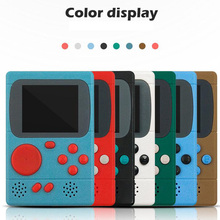 Video Game Console 8 Bit Retro Pocket Handheld Game Player Built-in 198 Classic Games Best Gift for Child Nostalgic Player