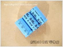 10 шт/30 шт Неполярные электролитические конденсаторы rubycon