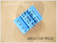 2019 hot sale 10pcs/30pcs Rubycon old sky blue BIW (CED) 100uF/50V non-polar electrolytic capacitors free shipping