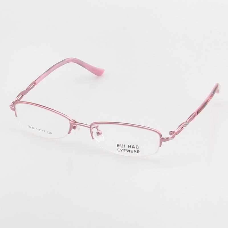 749b2eb67b Detail Feedback Questions about Fashion Eyeglasses Frame Women Half ...