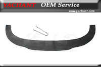 Car Styling Auto Accessories FRP Fiber Glass Universal Front Bumper Lip With Rods Fit For All