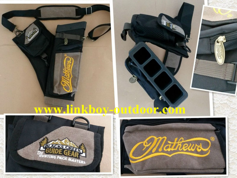 Brand new Mathews Hip Arrow Quiver by: Black Creek archery hunting 1pcs/lot dmar archery quiver recurve bow bag arrow holder black high class portable hunting achery accessories