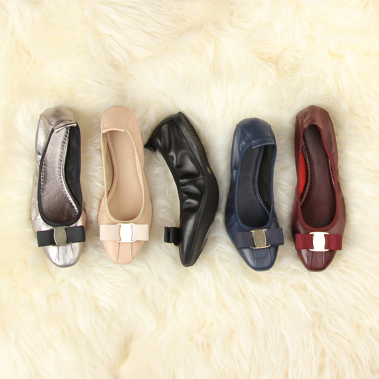 2019 comfortable real leather ballet flat shoes womens singles2019 comfortable real leather ballet flat shoes womens singles