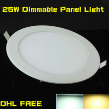 HOT!NEW ARRIVES Dimmable 15w 25W LED Down Light Dimmable LED Panel Light DHL FREE