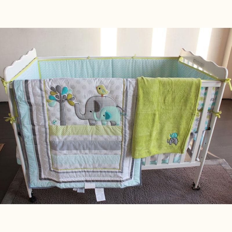 Bedding Sets Zebra Animal Cartoon 7 Pcs Baby Bedding Set Baby Bedding Set Cartoon Baby Crib Set Quilt Bumper Sheet Skirt