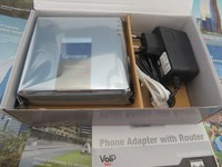 New Unlocked Linksys SPA2102 VoIP Router ATA SPA 2102