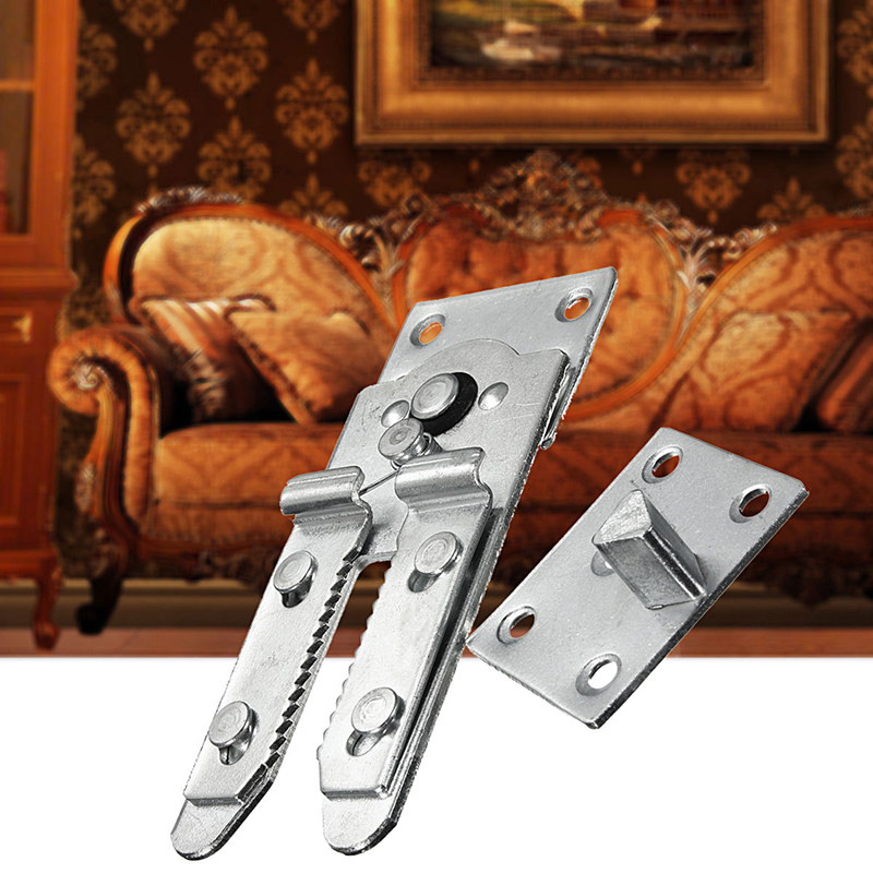 2Pcs Sectional Sofa Furniture Connector Snap Sofa Hinges for Home Furniture Sofa Connectors leravan mi home snap on electrode pads 2pcs