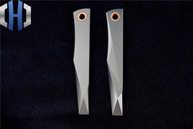 Crowbar Titanium Alloy Four axis CNC EDC Perfect Display Free DIY Tools