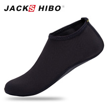 JACKSHIBO Spring Kids Water Socks Outdoor Slip-on Beach Shoes for Girl Boys Summer Sandals Swimming Sports Wetsuit