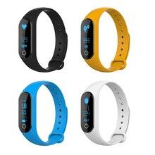 Bluetooth Смарт Браслет с 0.86 дюймов Экран Дисплей Поддержка сердце/скорость анти-потерянный напомнить/сообщение Нажмите