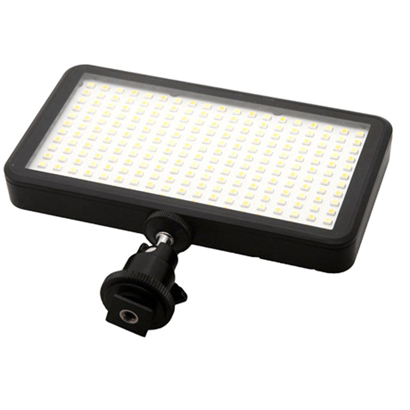 Image 3 - Led 228 Continuous On Camera Led Panel Light, Portable Dimmable Camera Camcorder Led Panel Video Lighting For Dslr Camera   Ca-in Photographic Lighting from Consumer Electronics