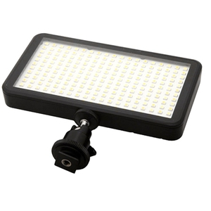 Image 3 - Led 228 Continuous On Camera Led Panel Light, Portable Dimmable Camera Camcorder Led Panel Video Lighting For Dslr Camera   Ca