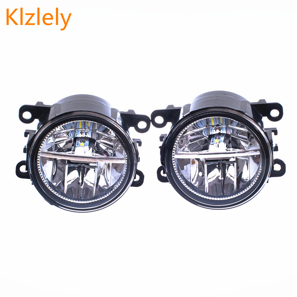 Fog Lamp Assembly Super bright Fog Light Fog Light For Suzuki SX4 2006 2014 High Brightness Led Fog Lights 12W 2Pcs