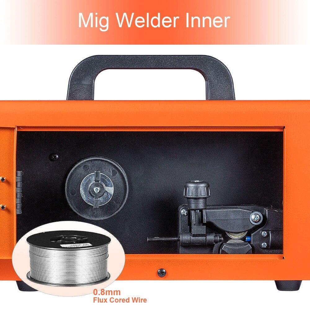 HITBOX Mig soudeur sans gaz 220V MIG1200 Mag soudeurs fer acier soudage équipement MIG MAG soudeuse Portable - 3
