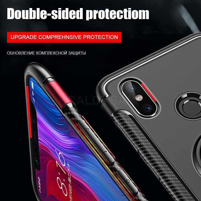 Роскошный противоударный чехол-бампер для Xiaomi Redmi Note 7 6 Pro 6A силиконовый мягкий чехол для Xiaomi mi 9 9 SE mi 8 Lite